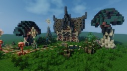 Elven house by Tonicel [Free To Use] Minecraft Map & Project