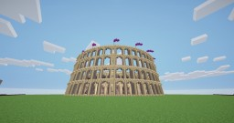 Colosseum Amphitheatre Arena Minecraft Map & Project