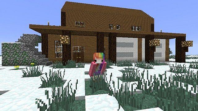 Winter Wonder Manor Minecraft Project