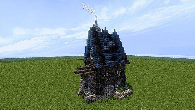 Schematic Small Medieval House Minecraft Map