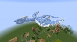 Ice Dragon Minecraft Map & Project