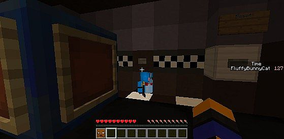 Minecraft Five Nights At Freddy Horror Map Invisible – Fondos de