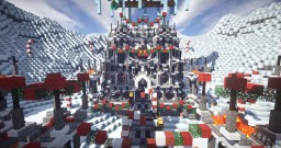 Christmas themed Spawn Minecraft Map & Project