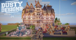 Victorian Fantasy Mansion | 64x64 Plotbuild Minecraft