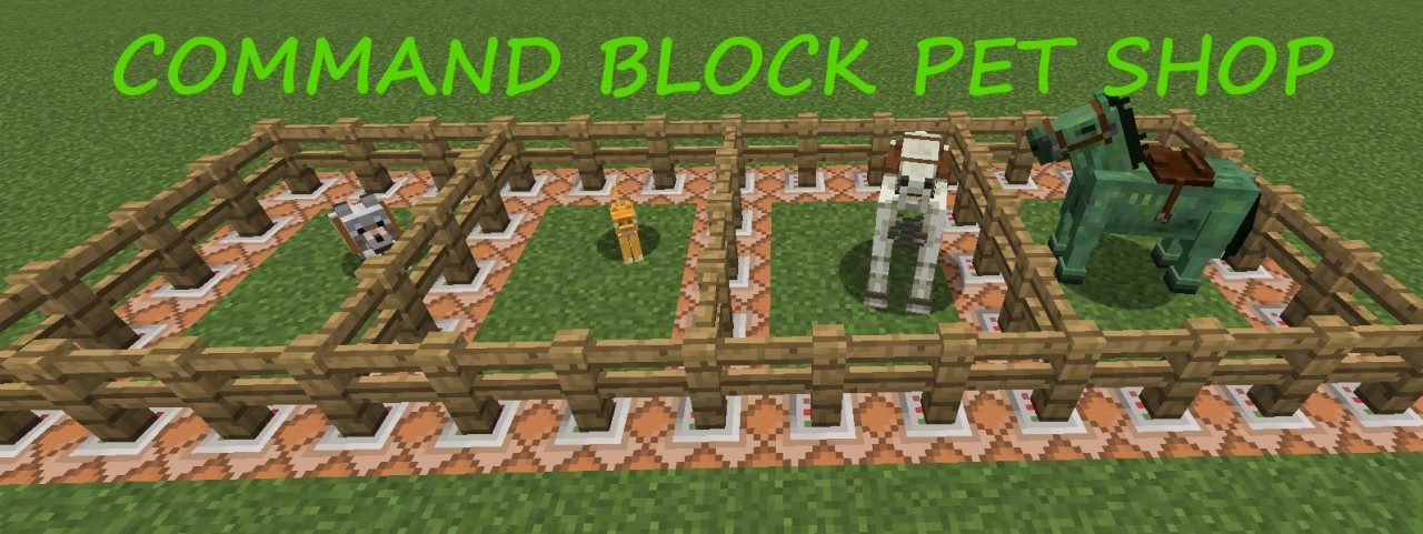 Creating a pet shop with command blocks minecraft blog