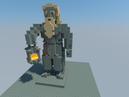Erebor Interior Dwarf - Lantern Minecraft Project