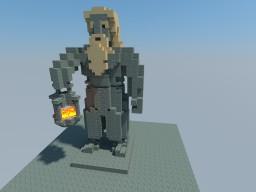 Erebor Interior Dwarf - Lantern Minecraft Map & Project