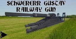 [ECS] Schwerer Gustav Railway Gun Minecraft Project