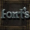 Ornate 5 Re-resurrected - HD Frozen Fonts AddOn