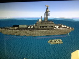 Military Patrol Boat Minecraft Map & Project