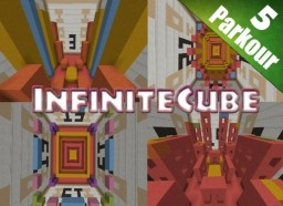 InfiniteCube - Parkour Map [1.8+] Minecraft Map & Project