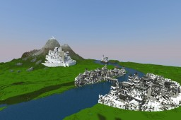 J.R.R Tolkien's Middle Earth Minecraft Map & Project