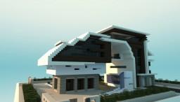 Futuristic House Minecraft Project