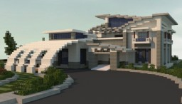 Contemporary Modern House Minecraft