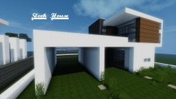Minecraft - Sleek House + Tutorial Minecraft Map & Project