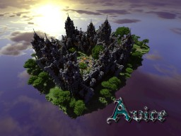 Minecraft Medieval / Nordic Spawn area: Avice Minecraft Map & Project