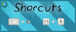 In-game Minecraft shortcuts Minecraft
