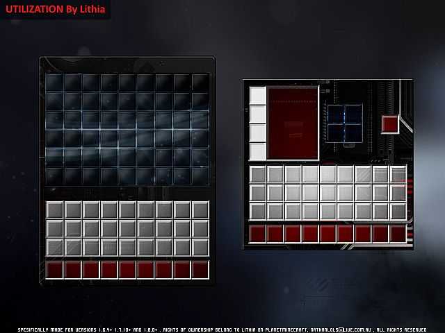 slide18402895 [1.9.4/1.8.9] [128x] Utilization Texture Pack Download