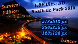 Ultra HD 1.8+  By Lancer Survival Edit. 2015 Minecraft Texture Pack