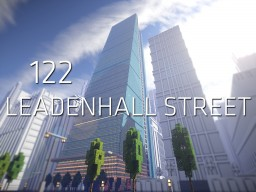 122 Leadenhall Street Minecraft Project