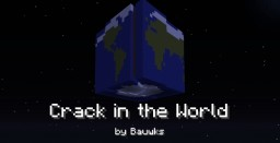 Crack in the World - Earth-shattering fun Minecraft Map & Project