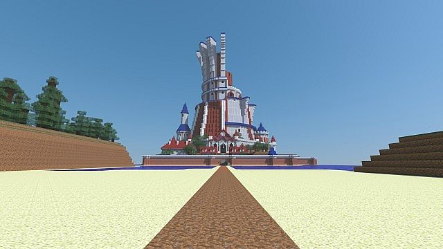 The Tower of Mastery ... also with 1.8 blocks it is taller than Prism Tower in Lumiose City.