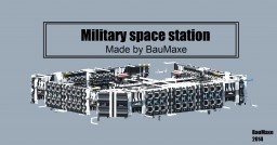 military Spacestation Minecraft Project