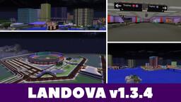 Landova (Modded Country Map)  [v1.3.4] Minecraft Map & Project