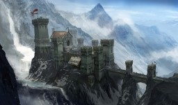 Dragon Age: Inquisition (skyhold castle at first) Minecraft