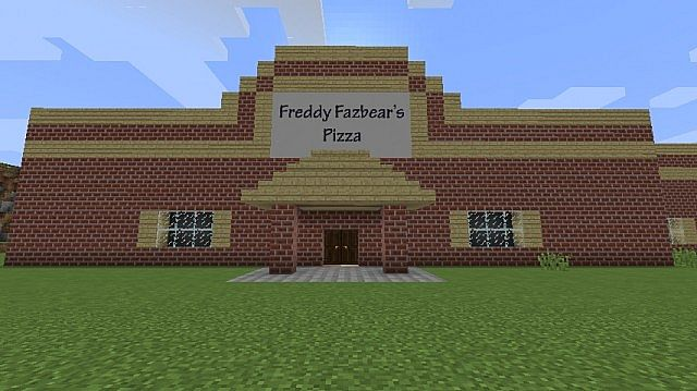 Freddy Fazbear S Pizza Minecraft Project