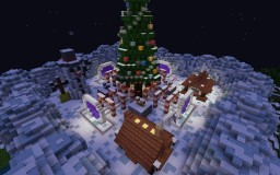 Christmas Lobby - WITH MCEDIT Schematic !! Minecraft Map & Project