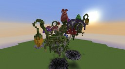 Floating Flower Islands Minecraft Map & Project