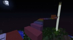 Extremely Awesome Rainbow Parkour! [Use 1.8] Minecraft Project