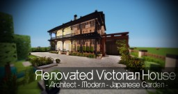 Renovated Victorian House in Modern - Ocean Drive Minecraft Map & Project