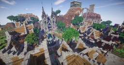 Qualia's Surrounding Village (i.e. Not named quite yet :P) Minecraft Map & Project