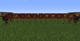Roman banner pack