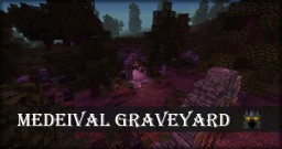 Medieval graveyard Minecraft Map & Project