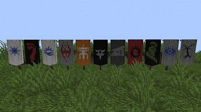 Banners Of Estrovia Minecraft Texture Pack