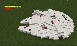 Millenium Falcon Scale 1:1 (where 1 block is 1 meter) Minecraft Map & Project