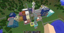 The Colorful Town of Póli̱ Chró̱ma Minecraft Project