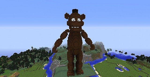 Freddy faz bear minecraft skin elhouz