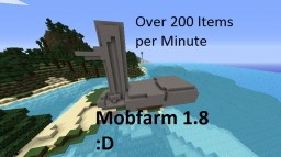 MOBFARM over 200 Mobs per minute [1.8] Minecraft Map & Project