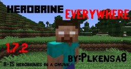 [Forge][1.7.2] Herobrine Everywhere | Every Chunks Theres some Herobrine Minecraft Mod