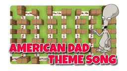 American Dad Note Block song Minecraft Project