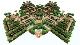 Hanging Gardens Of Azyros Minecraft