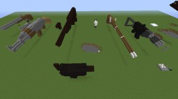 Large Scale Guns in Minecraft Minecraft Map & Project