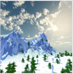 Walking in a Winter Wonder Land [2014] Minecraft Map & Project