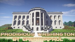 Prodigious Washington by CreatorPaul Minecraft