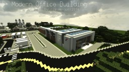 Modern Office Building Minecraft Map & Project