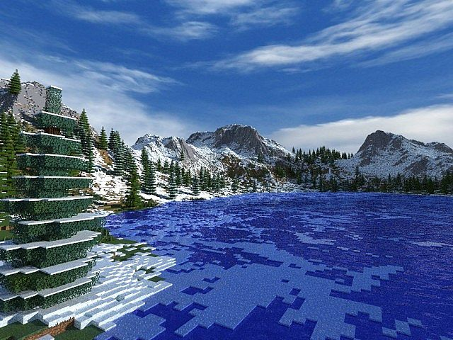 frozenfjord17 278420955 [1.8] Frozen Fjord Map Download